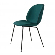 Beetle Dining Chair, Musta/ Kvadrat Canvas 984
