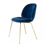 Beetle Dining Chair, Messinki/ Velluto Cotone 420