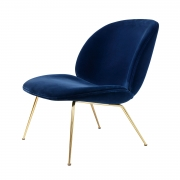 Beetle Lounge Chair, Messinki/ Velluto Cotone 420
